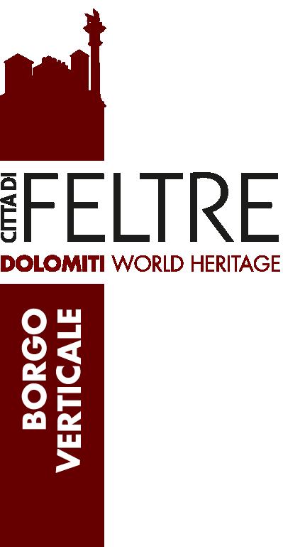 Logo feltre citta verticale
